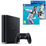 Конзола PlayStation 4 Slim 500GB Black, Sony PS4+Игра FIFA 19 за PlayStation 4+Игра Destiny 2 за PlayStation 4