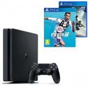 Конзола PlayStation 4 Slim 500GB Black, Sony PS4+Игра FIFA 19 за PlayStation 4+Игра Destiny 2 за PlayStation 4