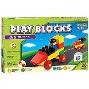 Play Block Car Set