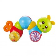 TOYMYTOY Press and Crawling Toy | Caterpillar Wind up Push Musical Toy - Baby, Toddler