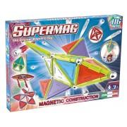 Supermag Trendy - Set constructie magnetic, 116 piese