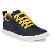NYN Men's Black & Yellow Casual Shoes