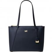 Maddie Medium Crossgrain Leather Tote Bag