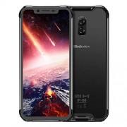 "Blackview BV9600 PRO Smartphone desbloqueado, Android 8.1 4G LTE teléfono celular, 6.21"" 19:9 FHD AMOLED visualización, Helio P60 Octa núcleos 6 GB + 128 GB, 5580 mAh batería, IP68/IP69K a prueba de agua/polvo, NFC móvil, Negro"