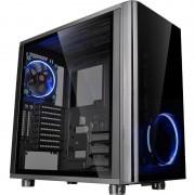 Carcasa View 31 Tempered Glass Edition, MiddleTower, Fara sursa, Negru