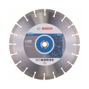 Bosch - Expert for Stone - Disc diamantat de taiere segmentat, 300x25.4/20x2.8 mm, taiere uscata, calitate medie