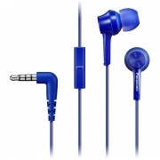 Panasonic Auricolare In Ear Mic Blue Cf010