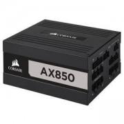 Захранване Corsair AX 850, 850W, Active PFC, 80 Plus Titanium, 135mm вентилатор, CP-9020151-EU