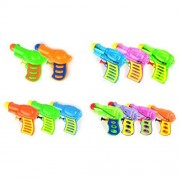 TOYMYTOY 12pcs Squirt Water Gun Kids Plastic Water Pistols for Watering Game (Random Color)