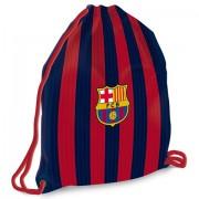 Sac de umar cu snur FC Barcelona 46 cm