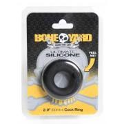 Boneyard Ultimate Silicone Cock Ring Black BY0450