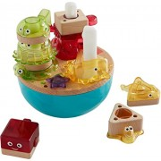 Fisher-Price Wooden Toys Deep Blue Sea Stacker