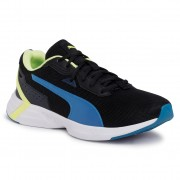 Pantofi PUMA - Space Runner 193723 08 Black/Digi/Blue/Fizzy Yellow