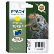 Консуматив Epson T0794 Yellow Ink Cartridge - Retail Pack (untagged) for Stylus Photo 1400, Epson Stylus Photo P50