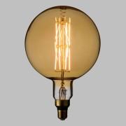Luci Da Esterno Lampada LED con estetica vintage Maxi Globo 8W E27 Vetro Oro Dimmerabile