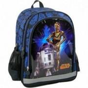Ghiozdan rucsac scoala Star Wars R2D2 si C3PO 39 cm