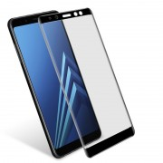 Película de vidro 5D para Samsung Galaxy A8 2018 Preto