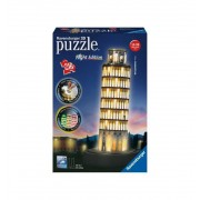 Puzzle 3D Torre de Pisa Luz Night Edition - Ravensburger