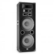 """Auna PA-2200 fullskalig PA-högtalare 2x12"""" bass 1000w max."""