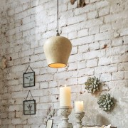 LOBERON Hanglamp Lamoth / grijs