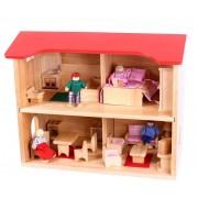 Bigjigs Komplet Dollhouse 41 delar - Bigjigs Dollhouse 951550