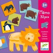 Memo-spel dieren