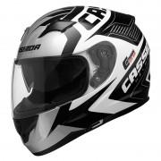 Cassida Moto Přilba Cassida Integral 2.0 Perimetric Černá/bílá/šedá