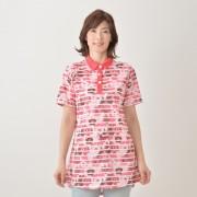 marie claire/bis UV フラワーボーダーチュニック【QVC】40代・50代レディースファッション