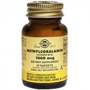 Solgar Methylcobalamin Vitamin B12 1000 Mcg - 30 Nuggets