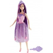 Mattel Barbie DKB59 Hair Princess Fashion Doll Lila