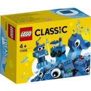 Lego Classic 11006 Set Mattoncini Blu Creativi