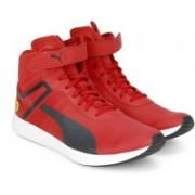 Puma Ferrari SF F116 Boot Sneakers For Men(Red, Black, Multicolor)