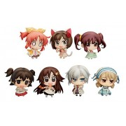 Minitchu Idolmaster Cinderella Girls Idol master Cinderella Girl 03 non-scale PVC painted Trading Figures 9 pieces BOX
