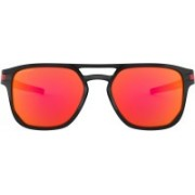 Oakley Latch Beta Retro Square Sunglass(Red)