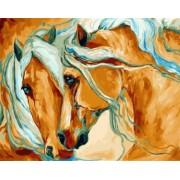 Gaira Malování podle čísel Koně M991864