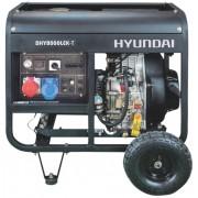 HYUNDAI DHY8000LEK-T Generator de sudura FULL POWER, 12CP, Diesel
