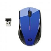 HP 2hw69aa # ABL 2,4 GHz Mouse USB inalámbrico X3000, Azul (Cobalt Blue), 3.7 x 2.2 x 1.5
