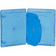 Pearl Blu-ray Soft-Hüllen blau-transparent im 10er-Pack für je 4 Discs
