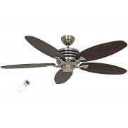 Casafan Modern Ceiling Fan Eco Gamma, 103 Cm, Wenge - Black Ultra Economical, Remote Control
