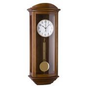 Kyvadlové skříňové rádiem řízené dřevěné hodiny JVD NR2220/11 s melodiemi