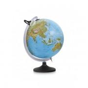 Glob iluminat Uranio 30 cm - harta in relief fizica si politica in limba engleza