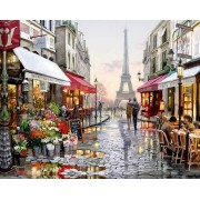 Gaira Malování podle čísel Paříž M1009