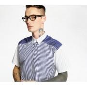 Comme des Garçons SHIRT Yarn Dyed Stripe Shirt Blue/ White