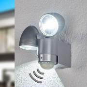 Globo Spot LED d'extérieur RADIAL à 2 lampes