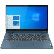 "Laptop 2in1 Lenovo IdeaPad Flex 5 (Procesor Intel® Core™ i5-1035G1 (6M Cache, up to 3.60 GHz), Ice Lake, 14"" FHD, Touch, 16GB, 512GB SSD, Intel® UHD Graphics, FPR, Win10 Home, Albastru)"