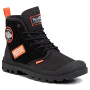 Туристически oбувки PALLADIUM - Pampa Hi Change 76648-001-M Black/Black
