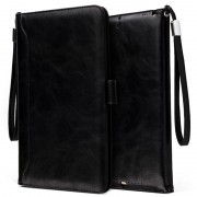 Smart Flip Case with Hand Strap - iPad 9.7 2018, iPad Air 2, iPad Air - Black