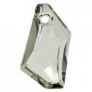 Swarovski Elements 6670 Silver Shade 24mm