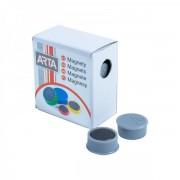 Ave Tech Sada magnetů 16 mm, 10 ks šedá