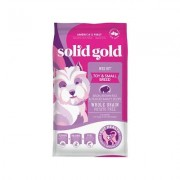Solid Gold Wee Bit Bison & Brown Rice Recipe with Pearled Barley Small Breed Dry Dog Food, 12-lb bag